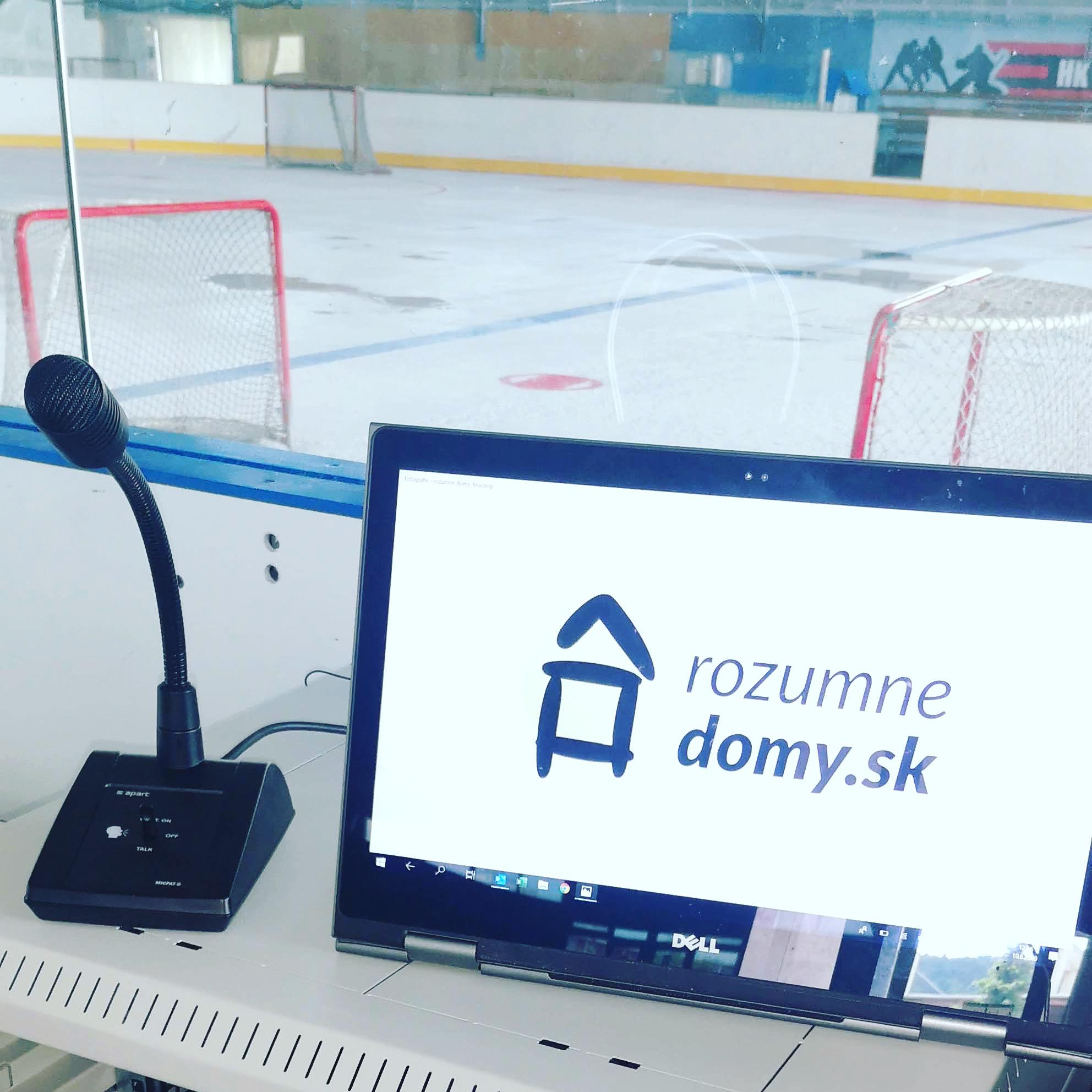 Smart riešenie pre zimný štadión v Partizánskom